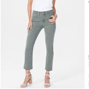 NYDJ Shari Slim Ankle Jean in Topiary, size 4